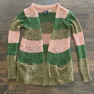 Urban Outfitters BDG Striped Cardigan Sweater